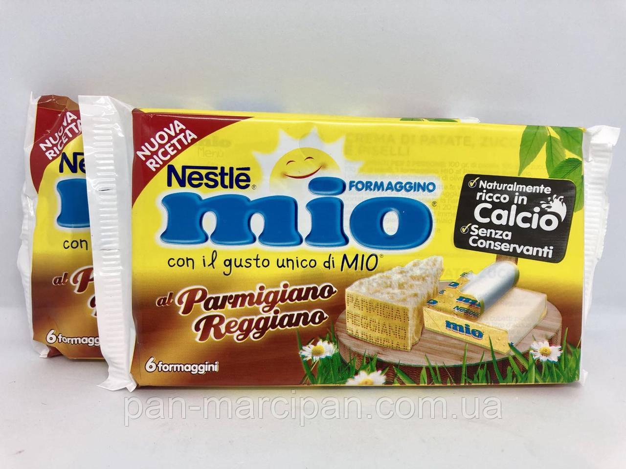 Суміш плавленого сиру Mio і Пармезану Nestle 125 г