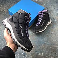 Оригинальные зимние ботинки Columbia Firecamp Boot Black, BL1766 - 010