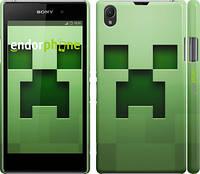 """Чехол на Sony Xperia Z1 C6902 Minecraft 2 """"774c-38"""""""