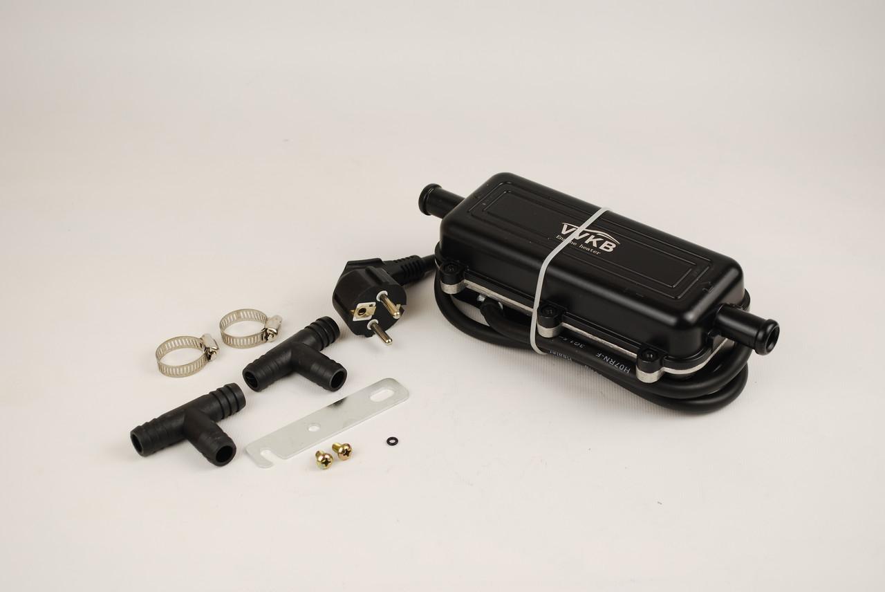 Подогреватель двигателя с помпой ВВКБ 2квт, Титан-P4. Для авто с двигателем от 3х литров.
