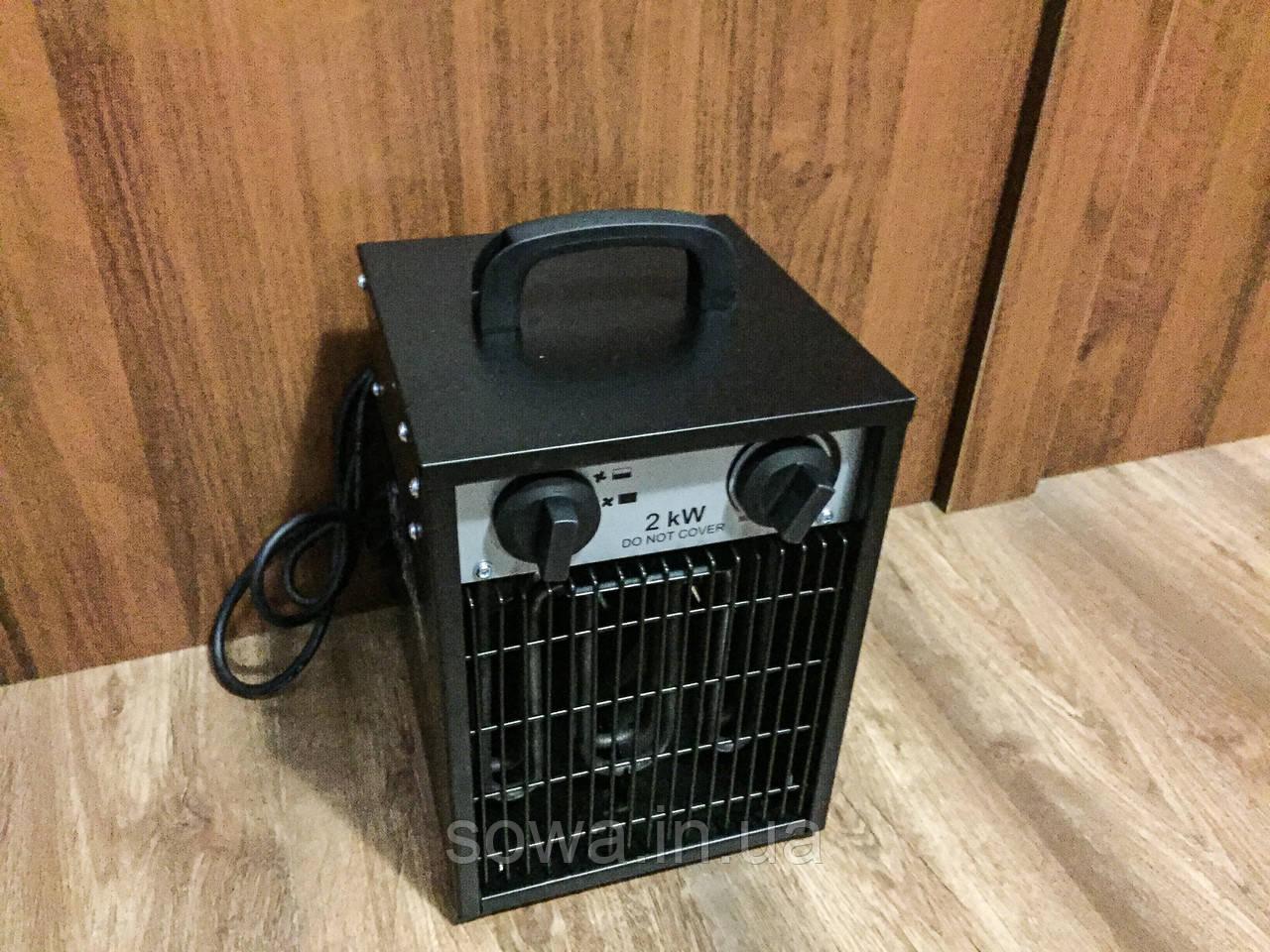 ✔️ Электрический обогреватель BLACK STORM RM80400 - 2 KW | Електричний обігрівач