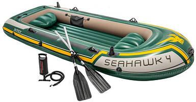 Лодка надувная - Intex Seahawk 4 - 351 x 145 x 48 cm