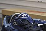 Чоловічі кросівки New Balance 991 (сині), фото 2