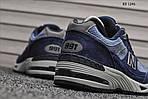 Чоловічі кросівки New Balance 991 (сині), фото 3