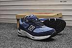 Чоловічі кросівки New Balance 991 (сині), фото 5