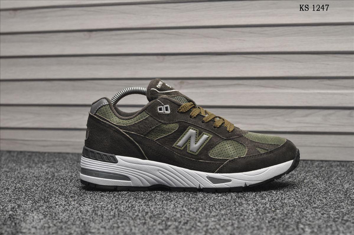 Чоловічі кросівки New Balance 991 (зелені)