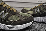 Чоловічі кросівки New Balance 991 (зелені), фото 4