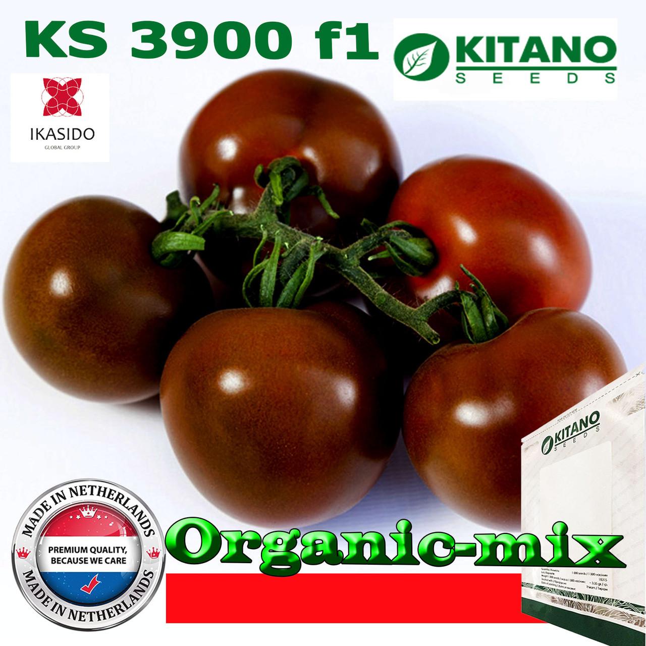 Томат идетерминантный KS 3900 F1, ТМ Kitano Seeds, 500 семян
