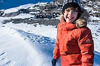 Зимняя Удлиненная Куртка-Пуховик SERKKU+Шерстяная шапочка с помпоном KIVIKKO Reima (528552-531301