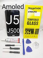 Дисплей + сенсор amoled LCD модуль Samsung J500H, фото 1