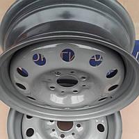 "Диск колеса ВАЗ 2112 14"", (5/Jx14Н2) серый"