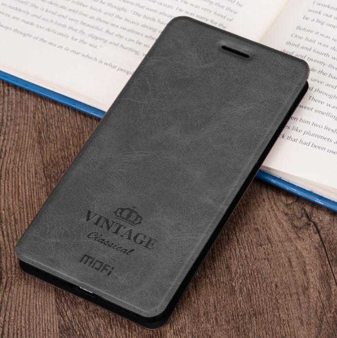 Чехол-книжка MOFI Vintage Series для Xiaomi Redmi 6A gray