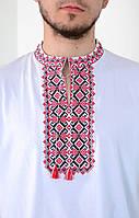 Мужская вышиванка с классическим орнаментом