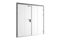 Технологические двухстворчатые двери DoorHan