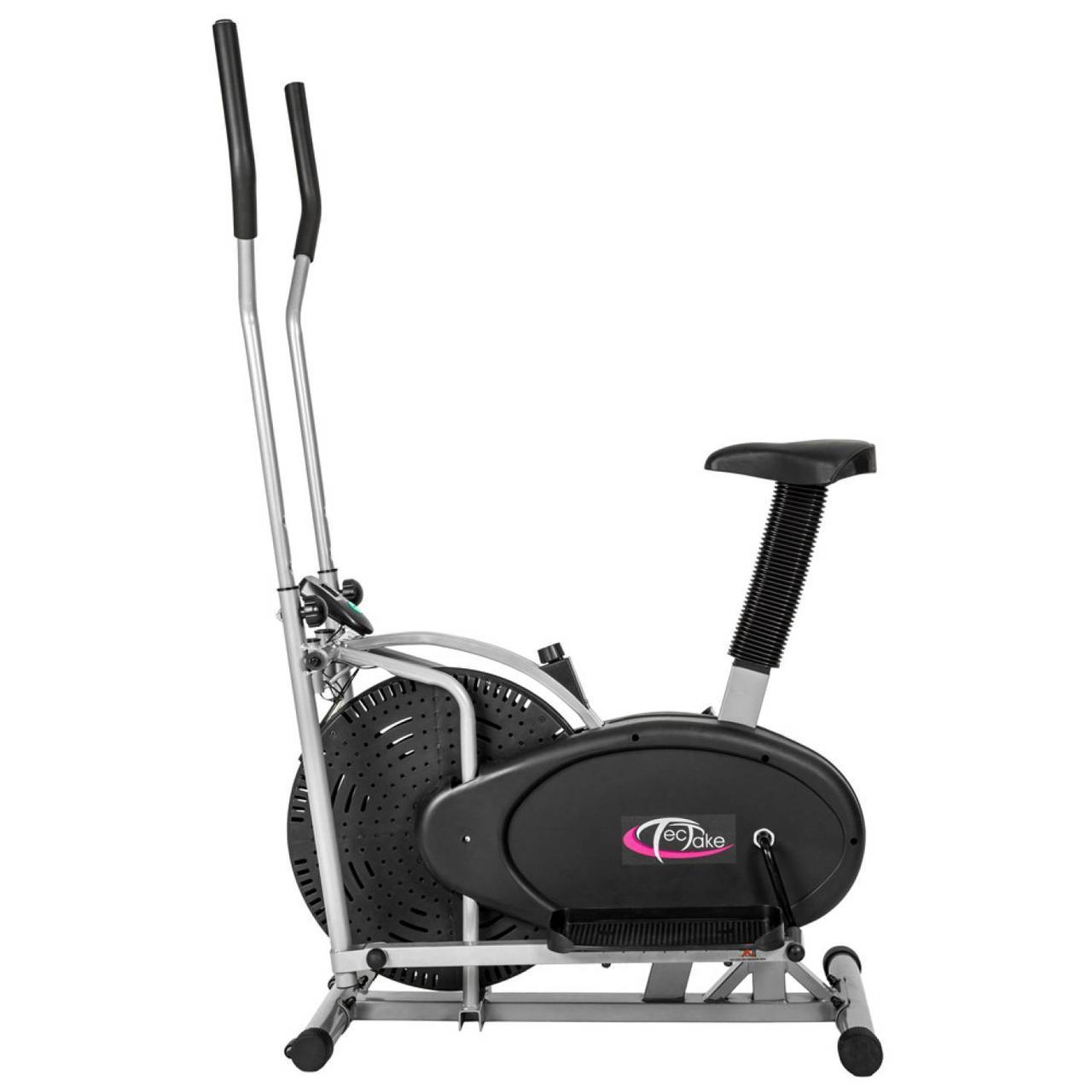 Эллиптический кросс-тренажер и велотренажер для фитнеса