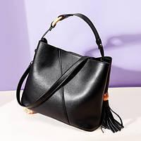 Женская сумка из натуральной кожи Вудлайн, фото 1