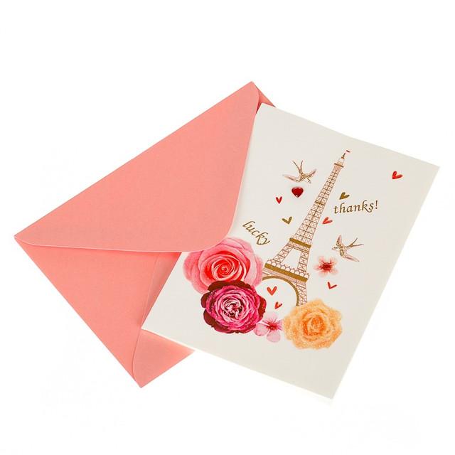 Стильные картонные открытки