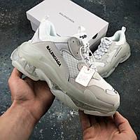 ✔️ Кроссовки женские Balenciaga Triple S White - (Баленсиага)