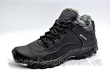 Ботинки мужские Ecco, Черные, фото 2
