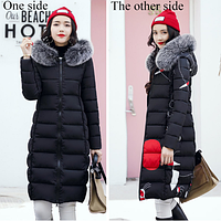 Женская зимняя двухсторонняя куртка.Арт.01441, фото 1