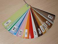 Жалюзи горизонтальные алюминиевые цветные