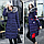 Женская зимняя двухсторонняя куртка.Арт.01441, фото 3