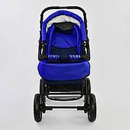 Детская коляска-трансформер Viki 86 - С 05 Синий электрик Гарантия качества Быстрая доставка, фото 2