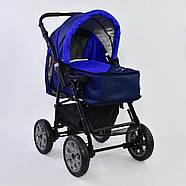 Детская коляска-трансформер Viki 86 - С 05 Синий электрик Гарантия качества Быстрая доставка, фото 3