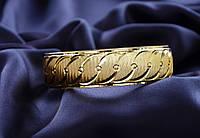 Стильный женский браслет с красивой огранкой.