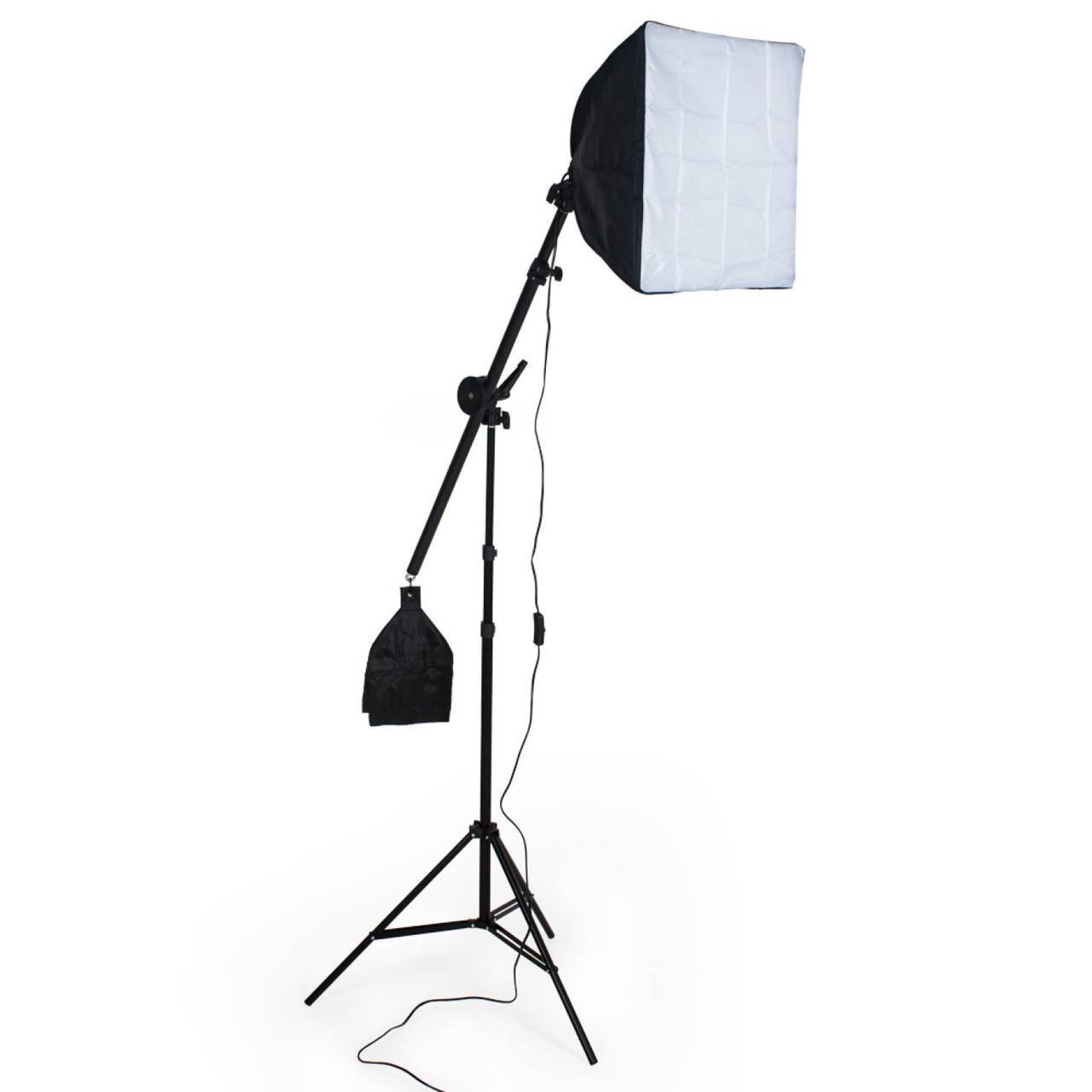 Софтбокс на стойке-журавль (непрерывный свет)