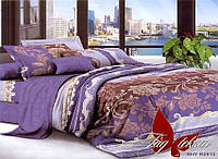 ✅ Двуспальный Евро комплект постельного белья (Поликоттон) TAG XHY2813