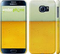 "Чехол на Samsung Galaxy S6 G920 Пиво ""1145c-80"""