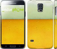 "Чехол на Samsung Galaxy S5 Duos SM G900FD Пиво ""1145c-62"""