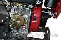 Мотоблок WEIMA DELUXE WM1100BE-6 КМ (дизель 9л.с.,КПП 4+2 скор., дифференциал, капот, фары, колеса 5,00-12), фото 8