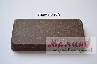 Гранитная мойка для кухни 98*50*23 см ADAMANT New Line plus (коричневый), фото 3