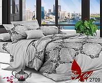 Комплект постельного белья XHY2709 ТМ TAG 2-спальный, постельное белье двухспальное