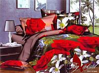 Комплект постельного белья XHY1966 ТМ TAG 2-спальный, постельное белье двухспальное