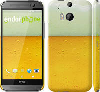 "Чехол на HTC One M8 dual sim Пиво ""1145c-55"""
