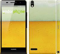 "Чехол на Huawei Ascend P6 Пиво ""1145c-39"""