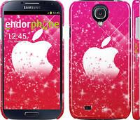 "Чехол на Samsung Galaxy S4 i9500 pink apple ""1620c-13"""
