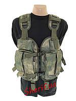 Разгрузка под АК (4*2 под АК, 4 гранат. рация, карман д-ты)  A-TACS
