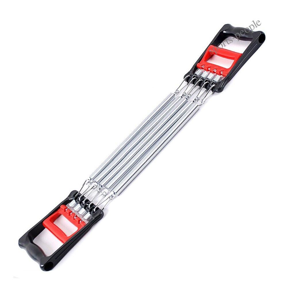 Эспандер пружинный, грудной, 2в1, 5 пружин, нагрузка 40 кг