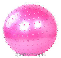 Мяч для фитнеса, массажный, 75 см. (без коробки)., фото 1
