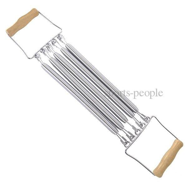 Еспандер пружинний, дерев'яні ручки