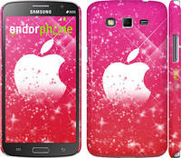 "Чехол на Samsung Galaxy Grand 2 G7102 pink apple ""1620c-41"""