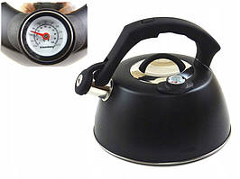 Чайник Edenberg EB-8815 со свистком и термометром   3л