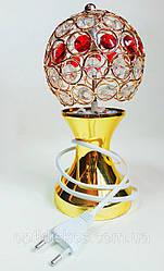 Ночник с камнями(золото+разноцветные камни)