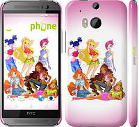 """Чехол на HTC One M8 Шестеро Winks """"194c-30"""""""