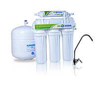 Фильтр для очистки воды - система обратного осмоса ЭКОВОДА RO-5P МТ18 с помпой