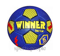 Мяч футбольный WINNER STREET CUP №5, для улицы, разн. цвета, фото 1